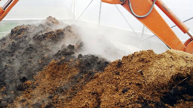 agricoltura organica rigenerativa compost