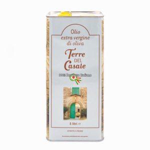 Lattina olio extravergine di oliva Terre del Casale