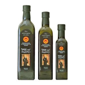 PDO Cilento Terre dei Monaci extra virgin olive oil