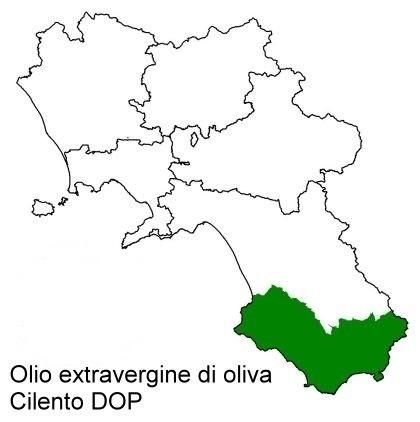 Olio extravergine Dop Cilento