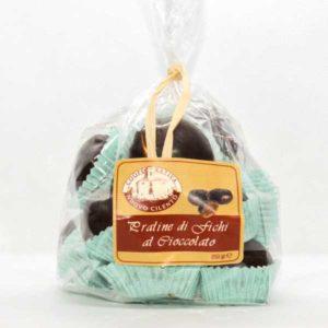 Praline di fichi al cioccolato