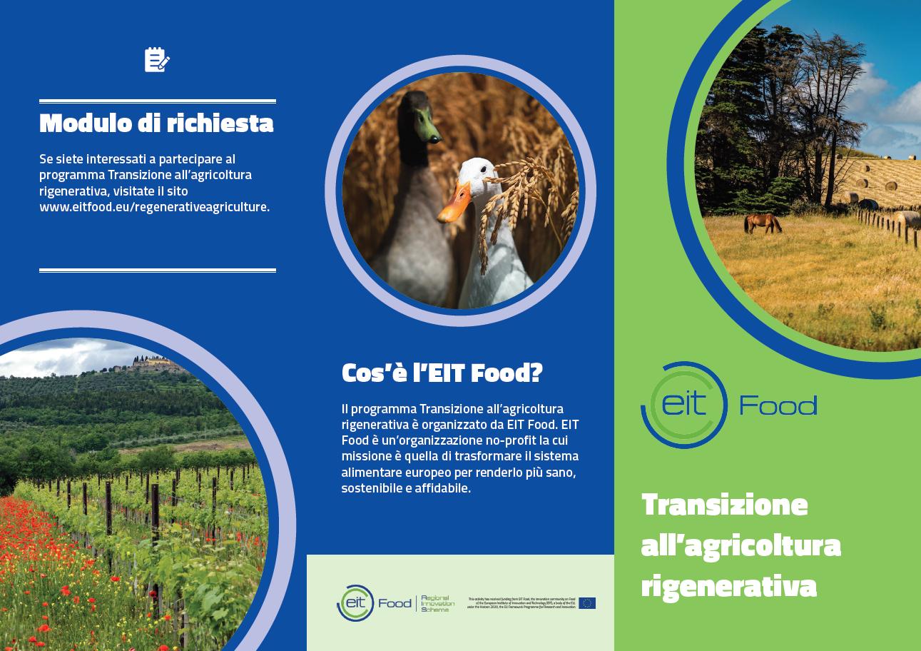 Agricoltura rigenerativa Eit Food