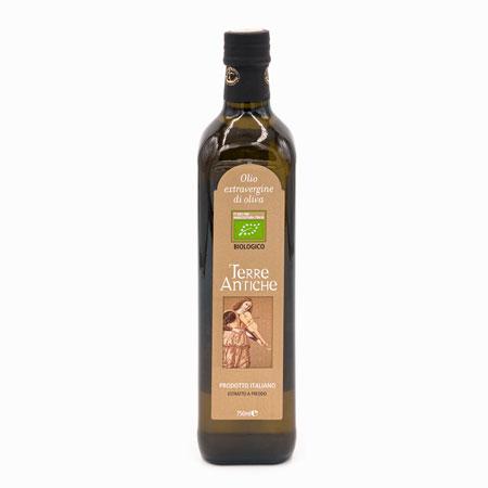 bottiglia olio del cilento biologico Terre Antiche